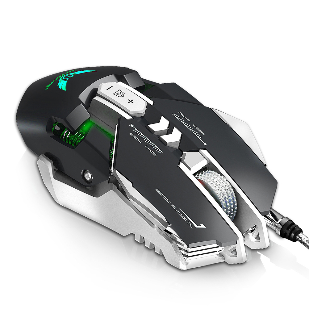 Game Wired Mouse Professional PUBG Computer Mouse Gifts for Man black_USB