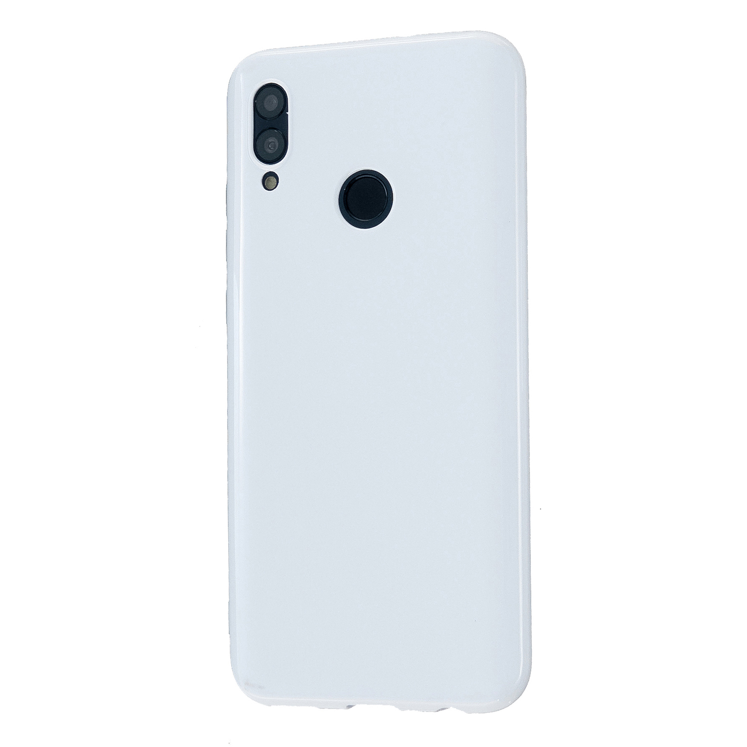 For HUAWEI Honor 10 Lite/P Smart/P Smart-Z 2019 Cellphone Shell Simple Profile Soft TPU Phone Case  Milk white