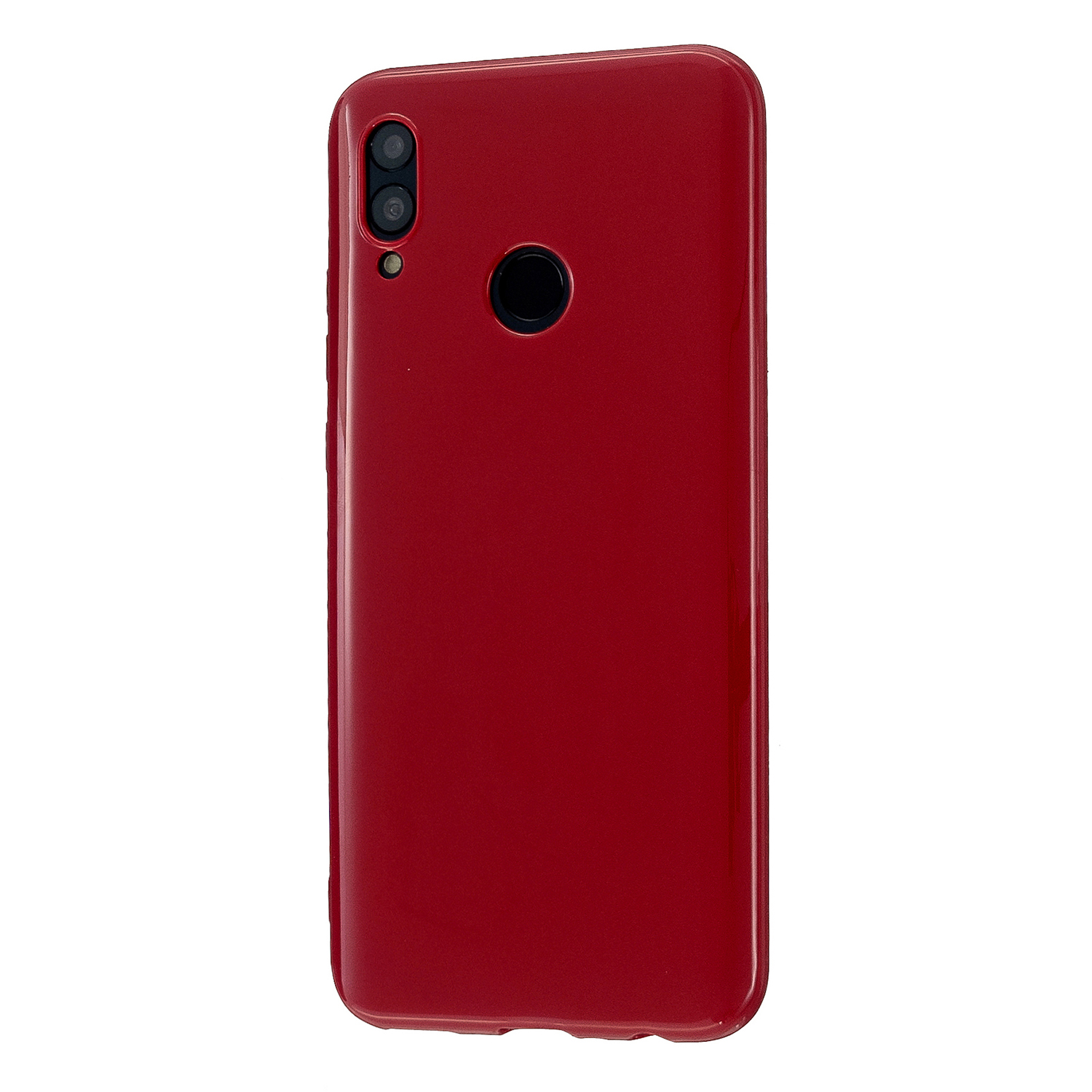 For HUAWEI Honor 10 Lite/P Smart/P Smart-Z 2019 Cellphone Shell Simple Profile Soft TPU Phone Case  Rose red