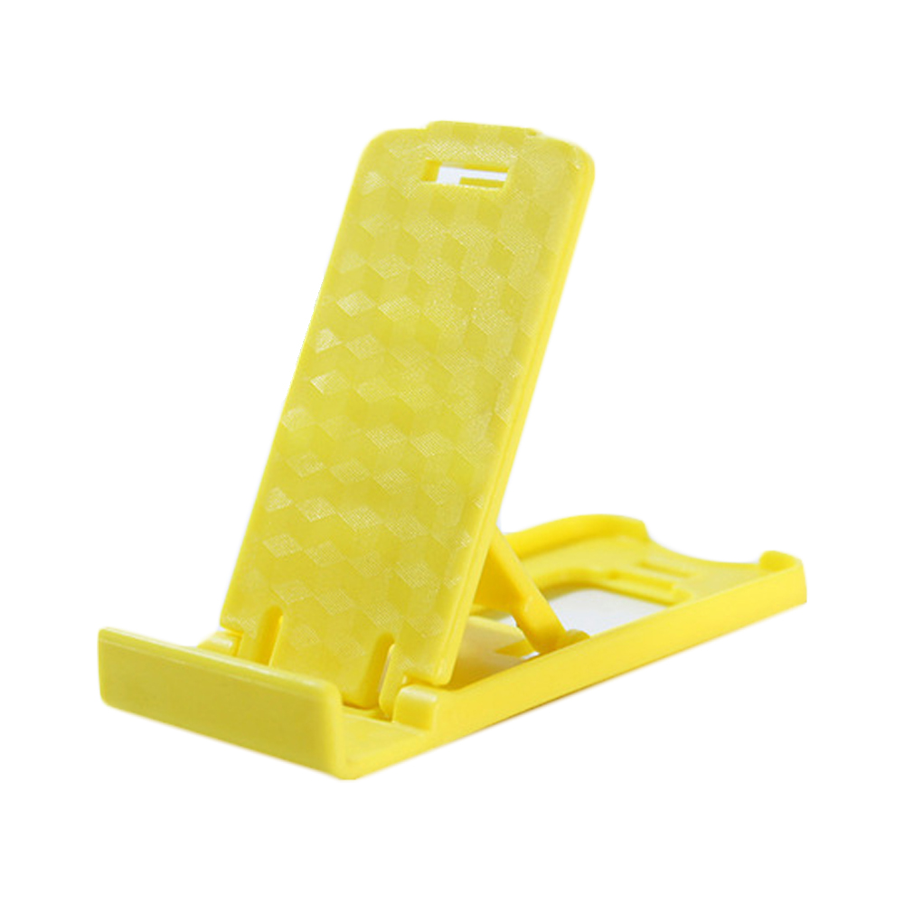 Mini Foldable Mobile Phone Holder Yellow