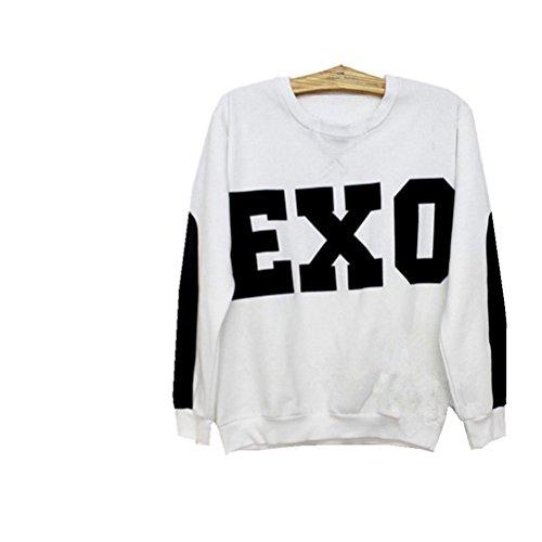 Urparcel EXO SBS Sweater EXO-M EXO-K Hoodies (D.O 12, L)