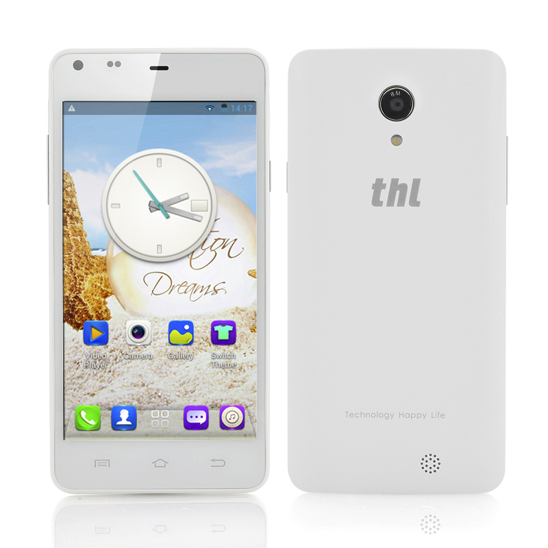thl T5S 3G 4.7 Inch Android Phone (White)