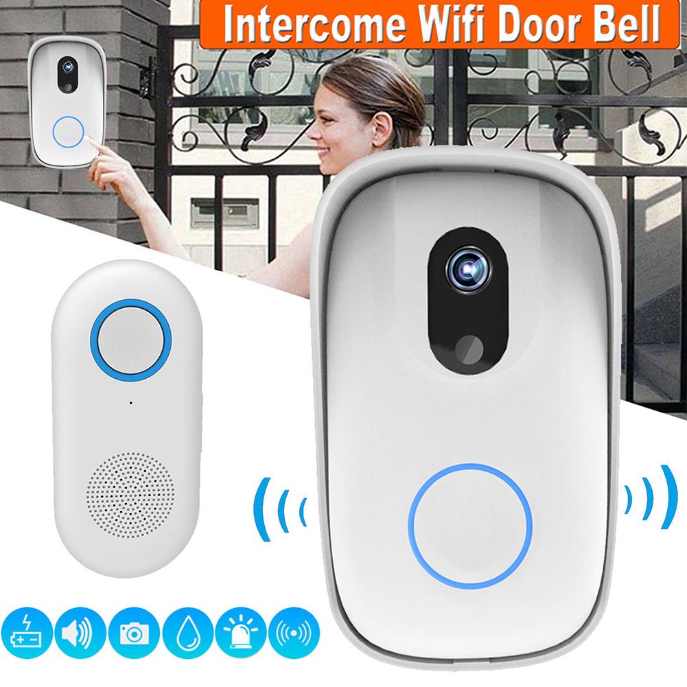 VSTARCAM D2 Waterproof Wireless Door Camera WiFi Snapshot Doorbell Smart Home Alert System EU plug