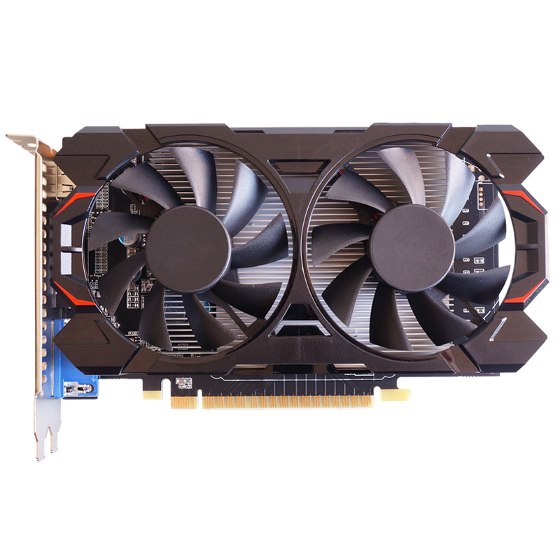 Geforce Gtx1050 2gb Graphics  Card Max Dpi 7680*4320 With Cooling Fan black