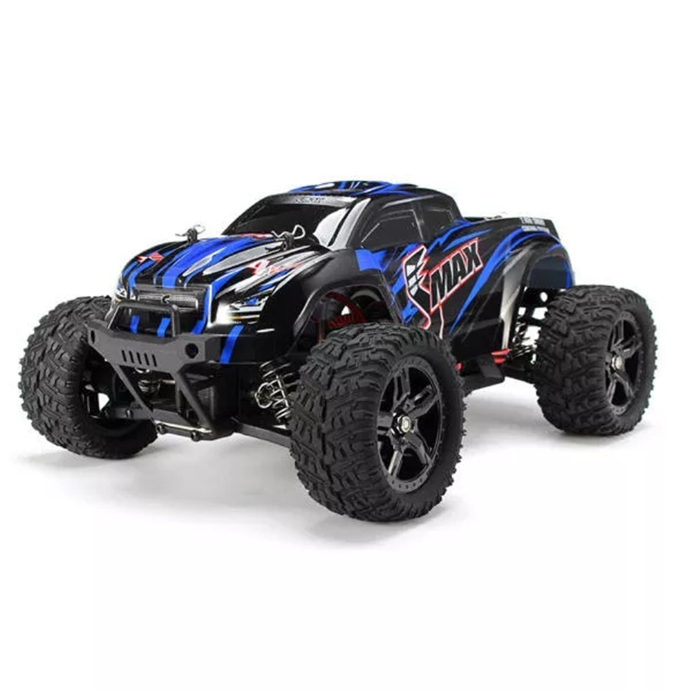 REMO 1631 1/16 2.4G 4WD Brushed Off Road  Truck SMAX RC Car blue