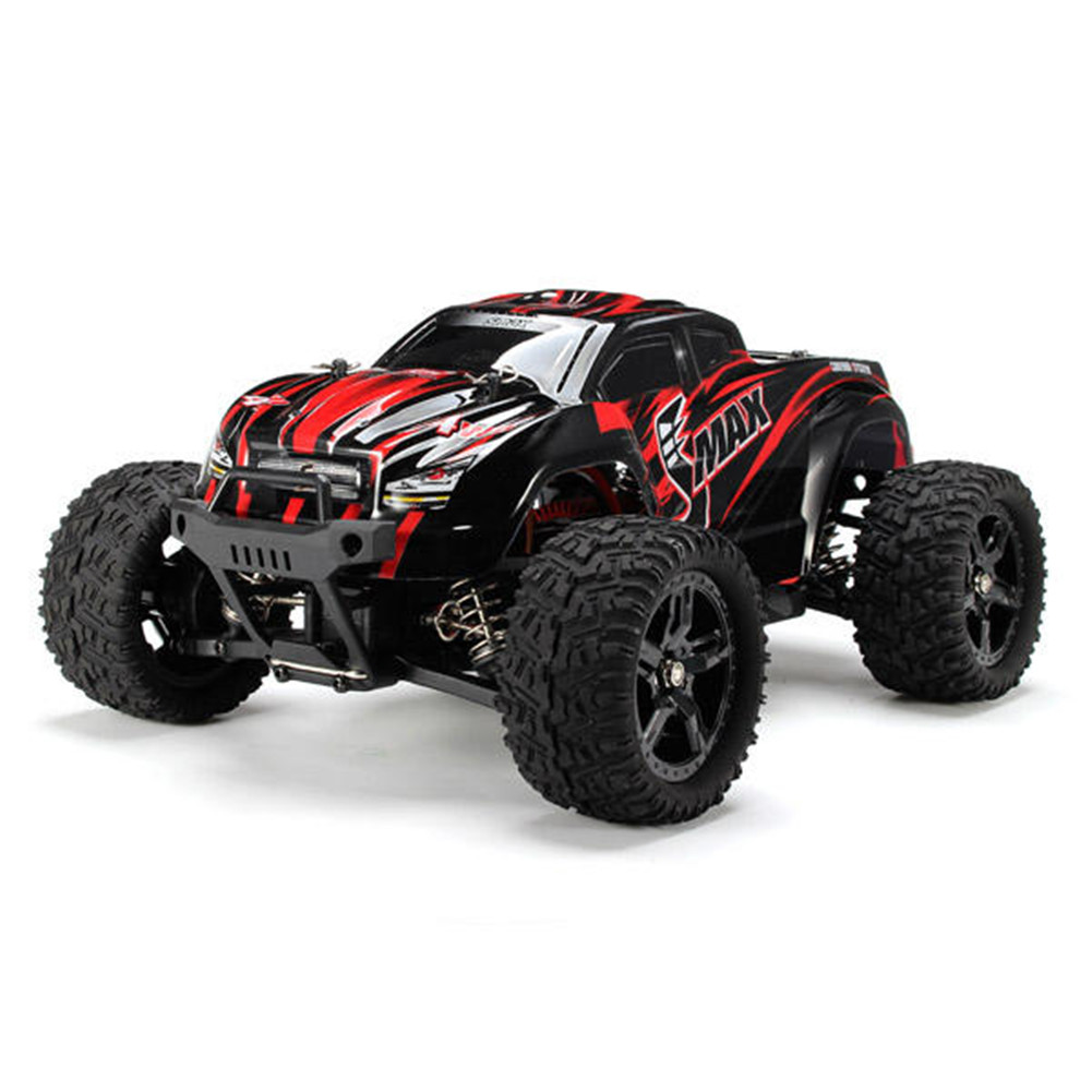 REMO 1631 1/16 2.4G 4WD Brushed Off Road  Truck SMAX RC Car red