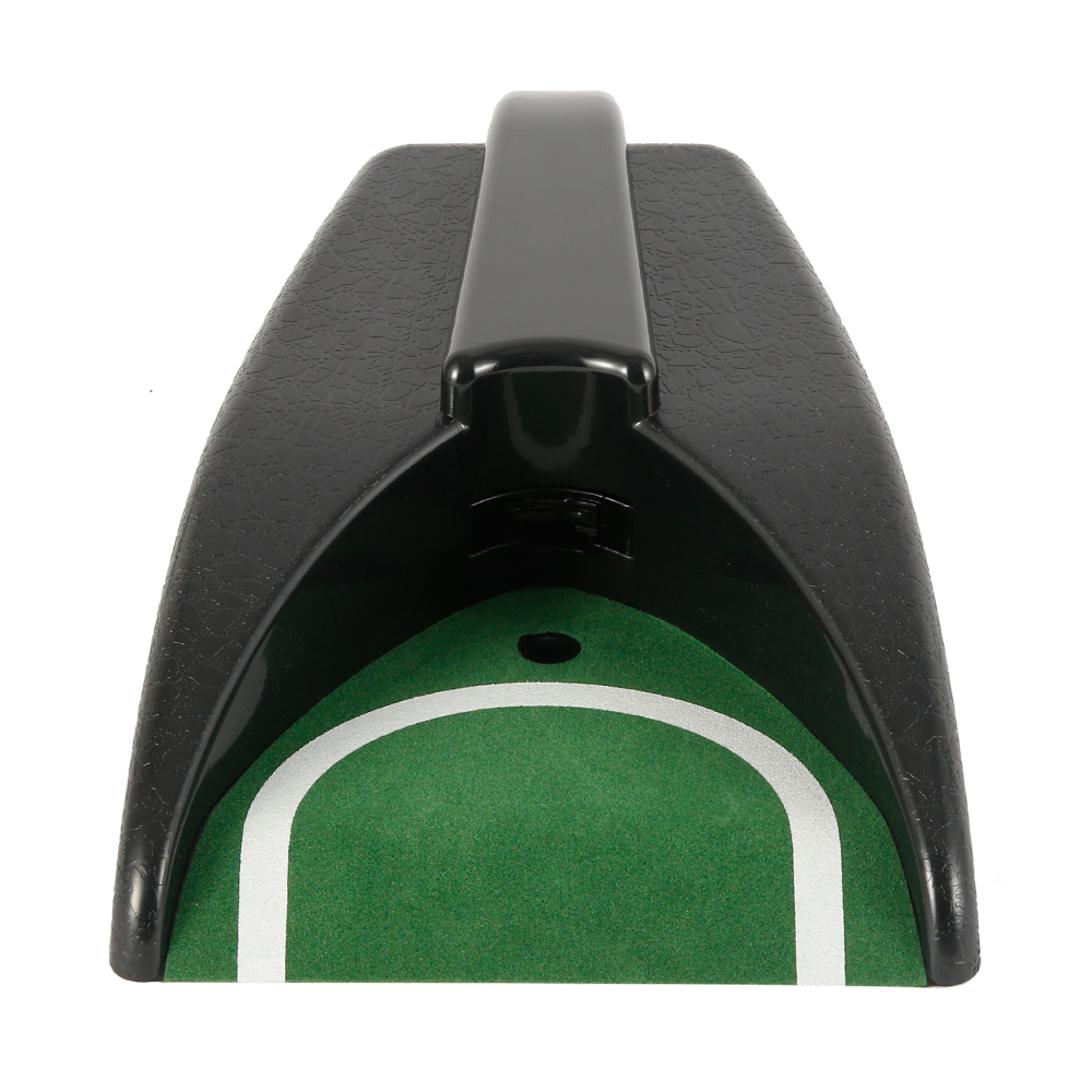 Automatic Golf Ball Training Return Device Indoor Golf Ball Kick Back Automatic Return Putting Cup Device black