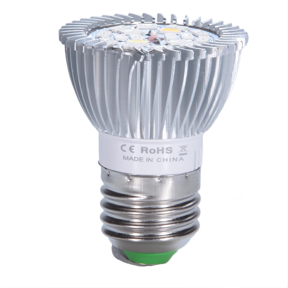 18W E27 LED Plant Grow Light Bulb Full Spectrum Bulb Lights for Indoor Plants Garden Greenhouse
