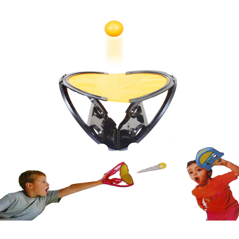 Racket Hand Hold Ball Indoor Sports and Recreation Catch Ball Games Decompression Toy As shown