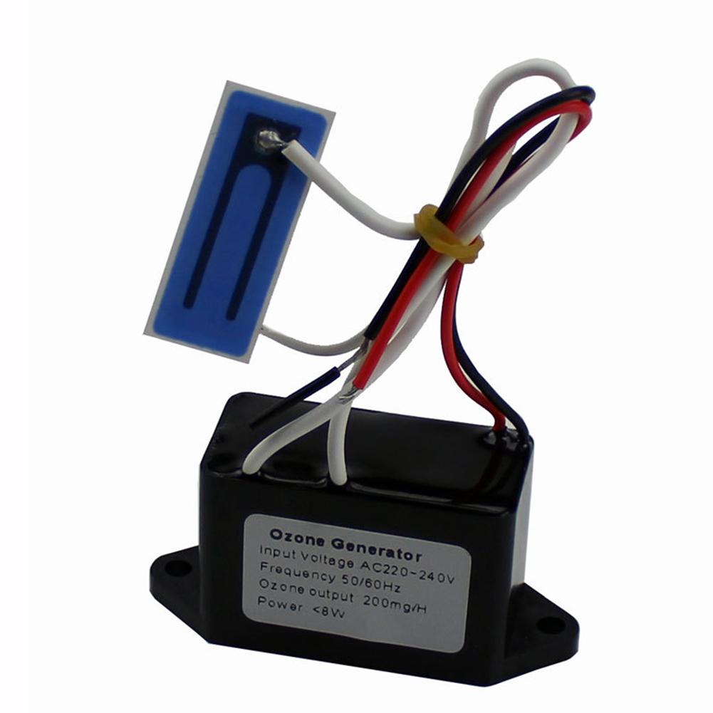 DIY Home Ozone Generator Air Purifier Car Deodorant Sterilizer for Freshing Fruits Vegetables DC12V 200mg