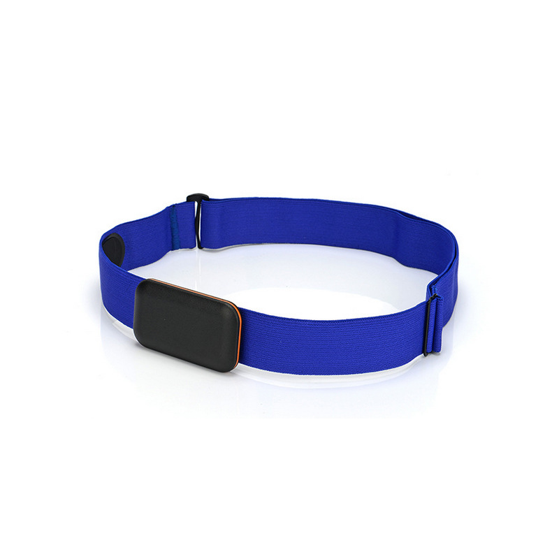Adjust Chest Belt Strap Band for Heart Rate Monitor blue_Chest strap only