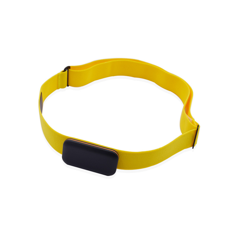 Adjust Chest Belt Strap Band for Heart Rate Monitor yellow_Chest strap only