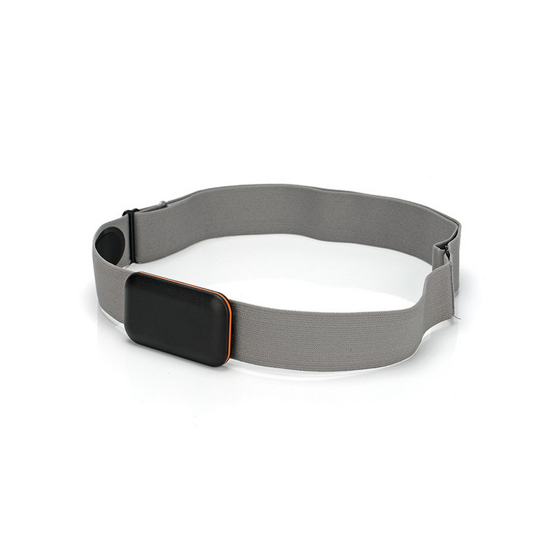 Adjust Chest Belt Strap Band for Heart Rate Monitor gray_Chest strap only