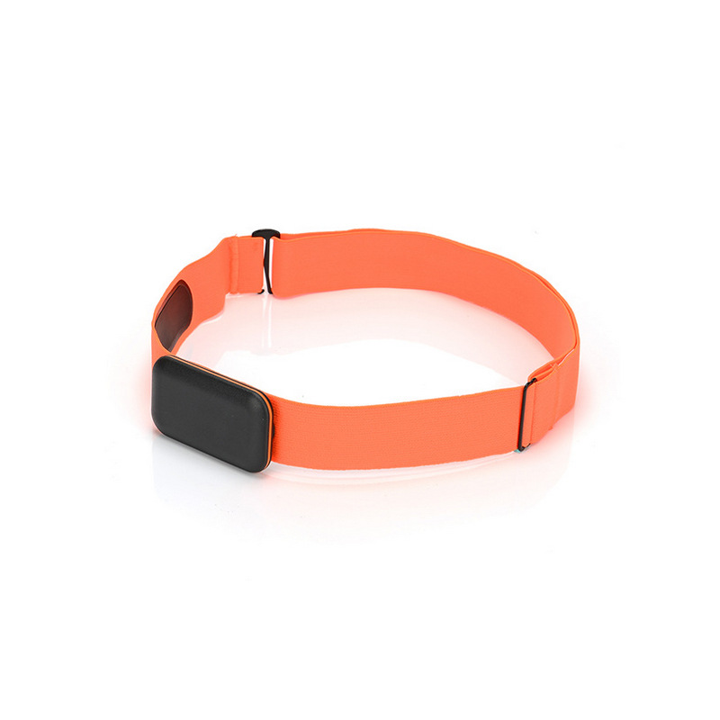 Adjust Chest Belt Strap Band for Heart Rate Monitor Orange_Chest strap only