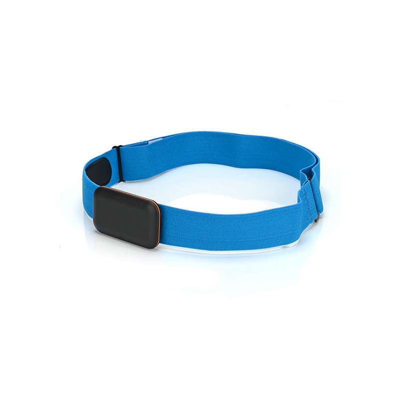 Adjust Chest Belt Strap Band for Heart Rate Monitor sky blue_Chest strap only