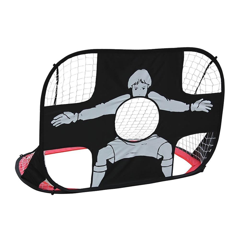 Football Gate Multifunctional Folding Soccer Gate Portable Football Gate for Children black