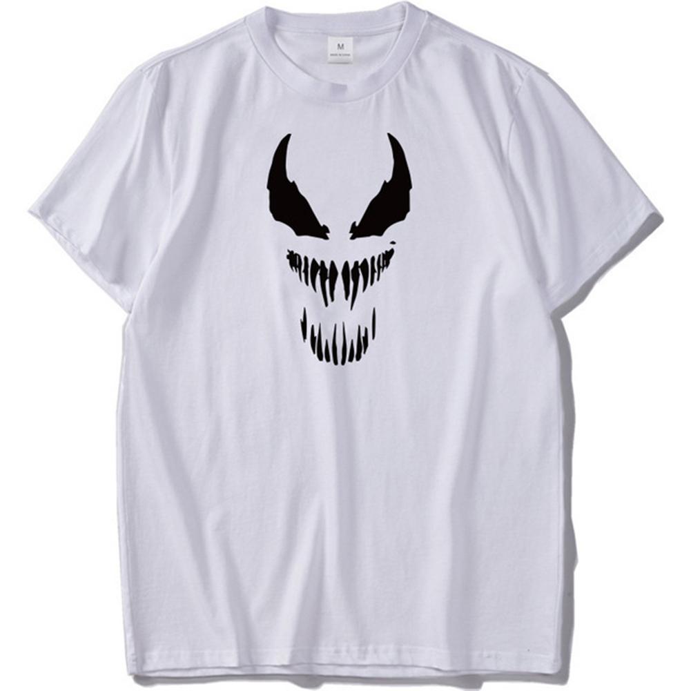 Men Cool 3D Anime Digital Printing Casual All-match Short Sleeve T-shirt