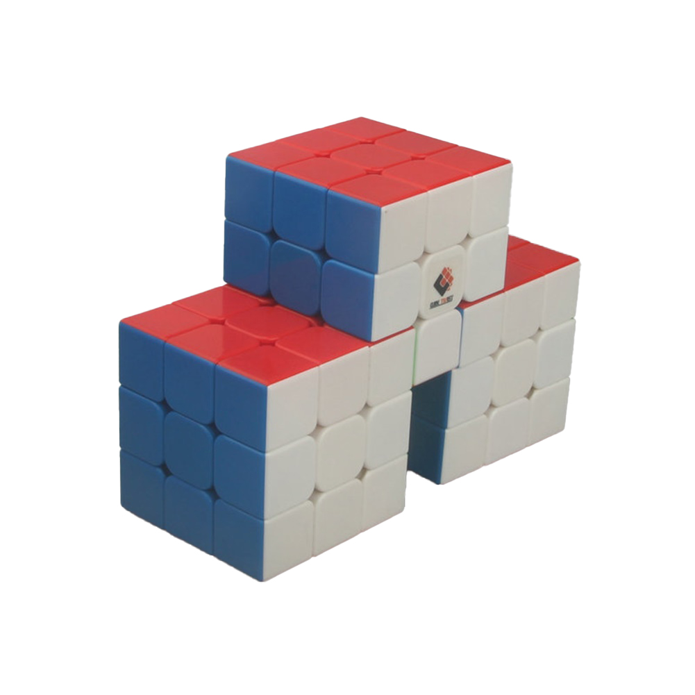 Anti-stick Magic  Cube Educational Puzzle Toy For Kids Stress Reliever Great Wall