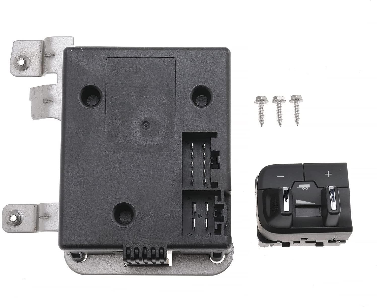Integrated Trailer Brake Controller Retractor Kit For Dodge Ram OE: 82215040AB 82215040AC Black
