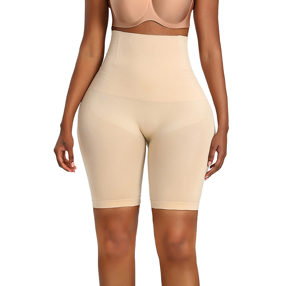 Women High Waist Body Shaper Underwear Hip-lifting Beauty Shapewear Underpants Skin color_M/L