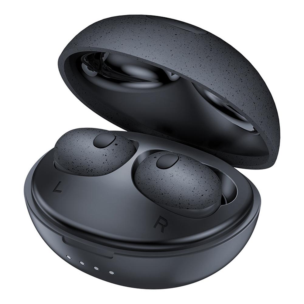 Original LENOVO T2S Wireless Bluetooth Headset Sports Sweat-proof Cute Mini Earphone Black