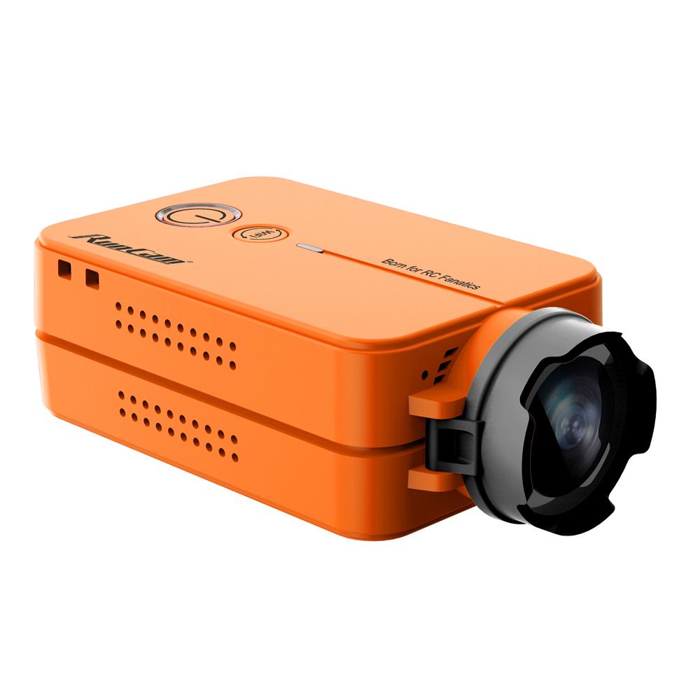 RunCam 2 RunCam2 Ultra HD 1080P 120 Free 16G SD Wide Angle WiFi link Camcorder FPV Camera For QAV210 Quadcopter Racing Drone RC Orange