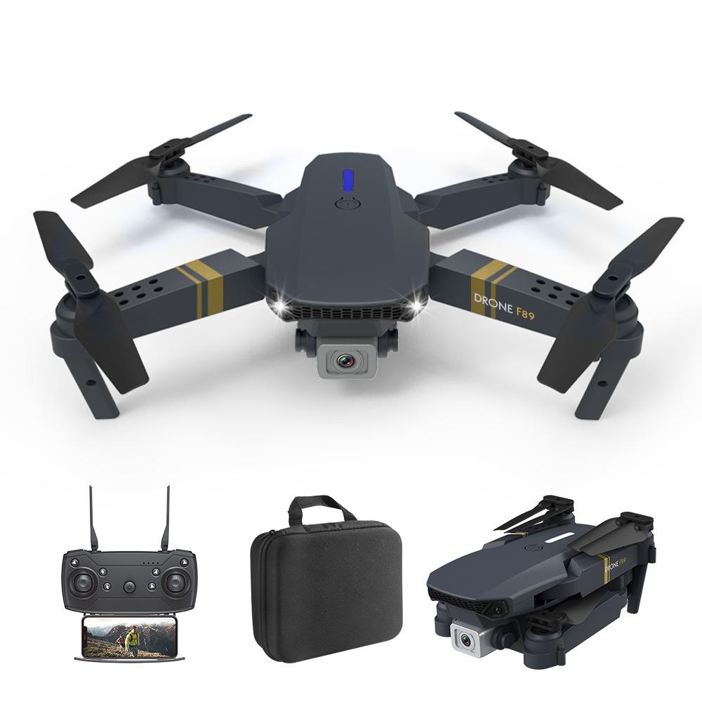 F89 Drone 4k Dual-camera Long Endurance Aircraft E58 Fixed Altitude Rc Aircraft Dual camera switch 1080P pixel 3B