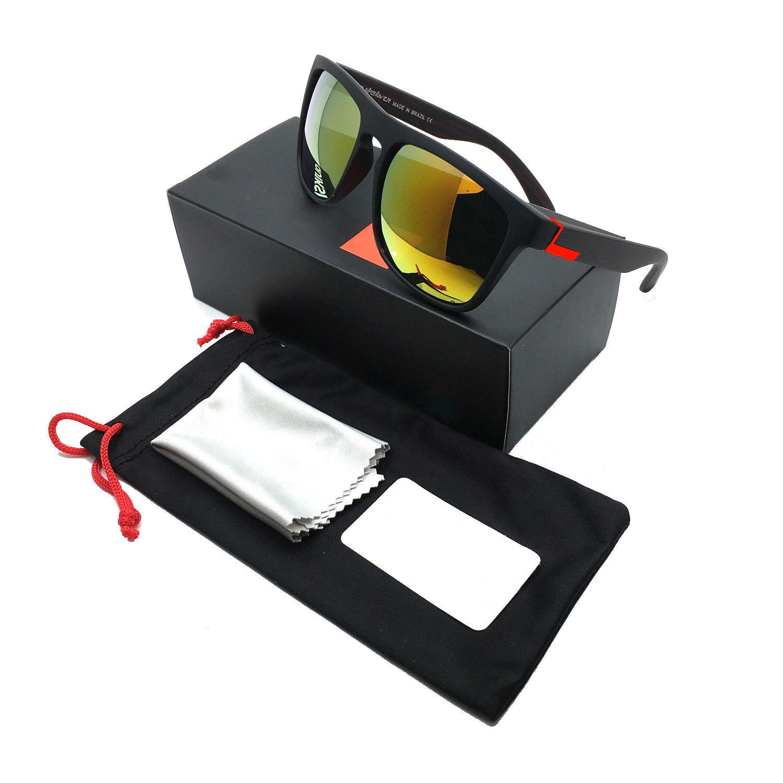 [Indonesia Direct] Stylish Men Women Outdoor Sunglasses UV400 Lightweight Clean Vision Sunglasses 13