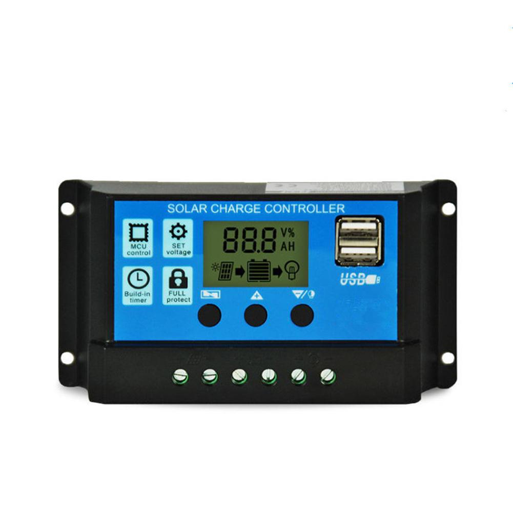 MPPT  Solar  Panel  Regulator Charge Controller Auto Focus Tracking 30-100A 12V/24V 50A