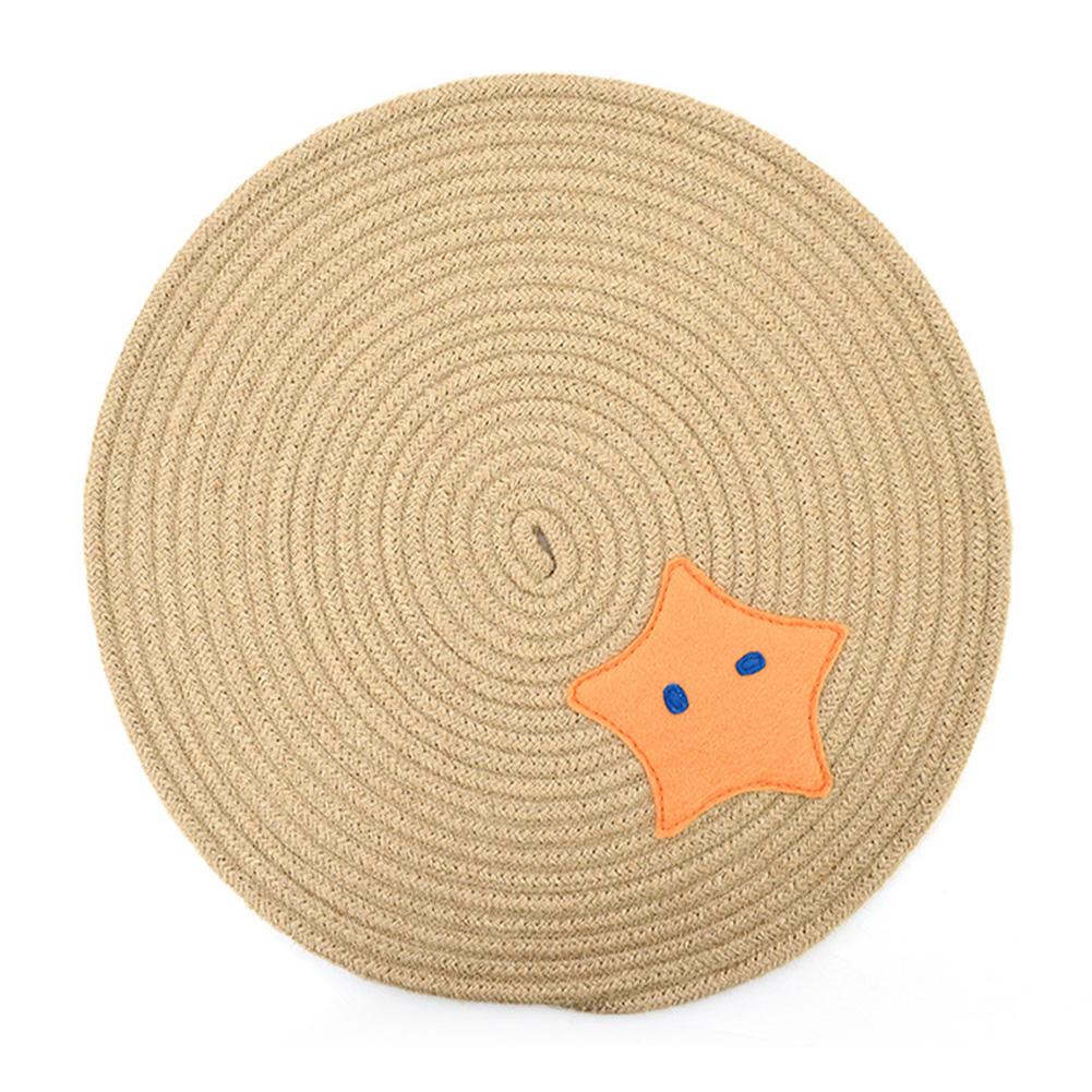 Scratch Board Pad Scratcher Mat Claws Care Cat Toy Furniture Protect Sofa Scratching Pentagram