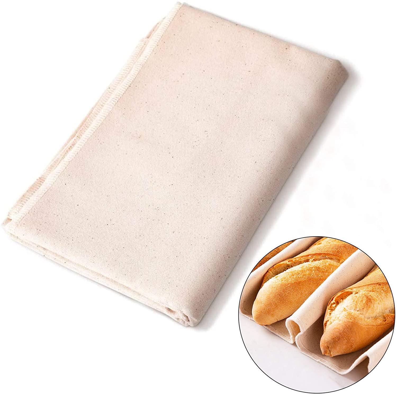 Bread  Fermentation  Towel Dough Cloth Baker's Linen For Baked Bread Baking Accessories L