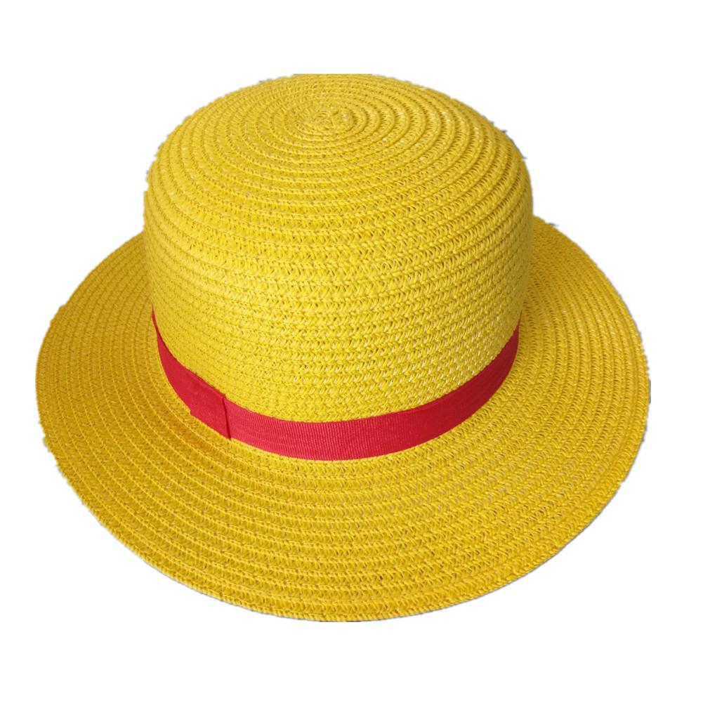 [EU Direct] Cosplay Accessories One Piece Straw Hat Luffy`s Hat