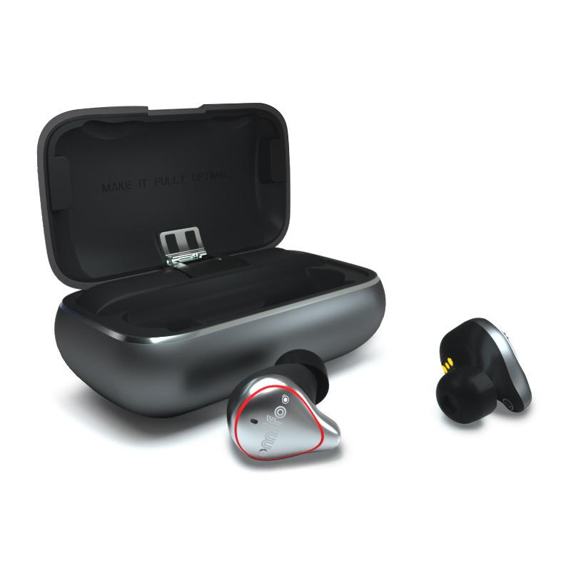 MIFO O5 Bluetooth Wireless Headset Dual Earbuds Mini In-ear Sports Running Waterproof Headphone Professional Version
