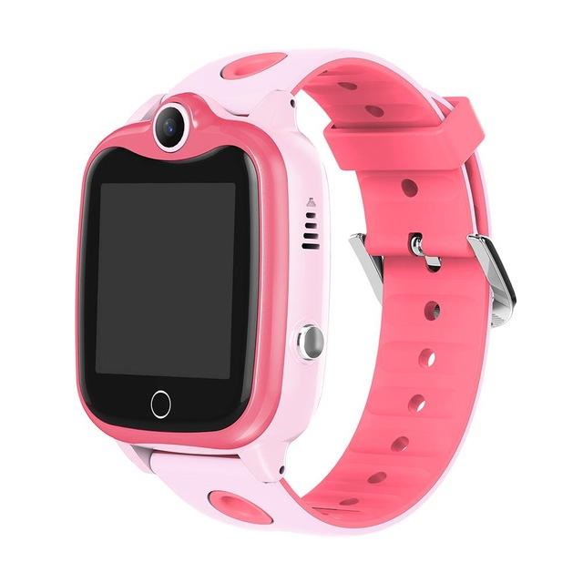 D06 Children Watch IP67 Waterproof Digital Kids Wristwatch SOS Call Boys Girls Smart Locator Anti Loss Monitor Pink