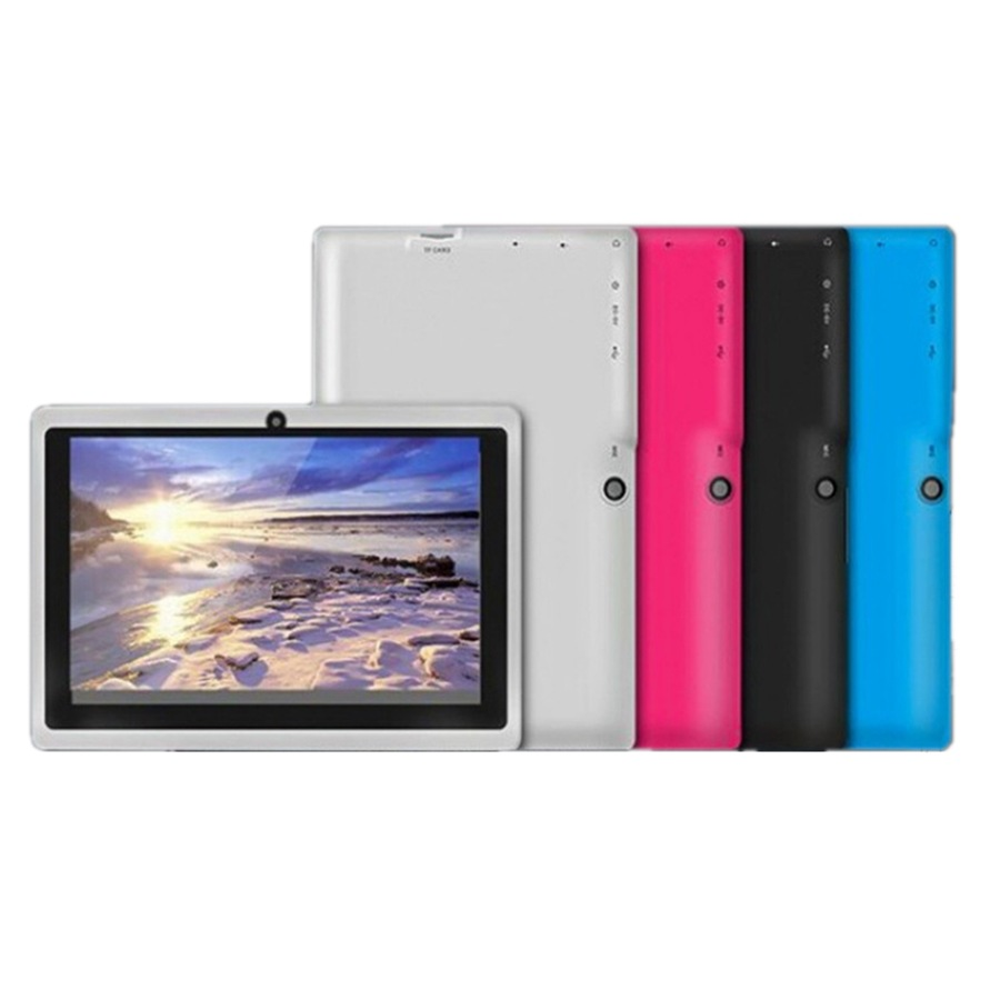 7 inch Quad-core Student Entertainment Tablet for Children Kids white_U.S. regulations