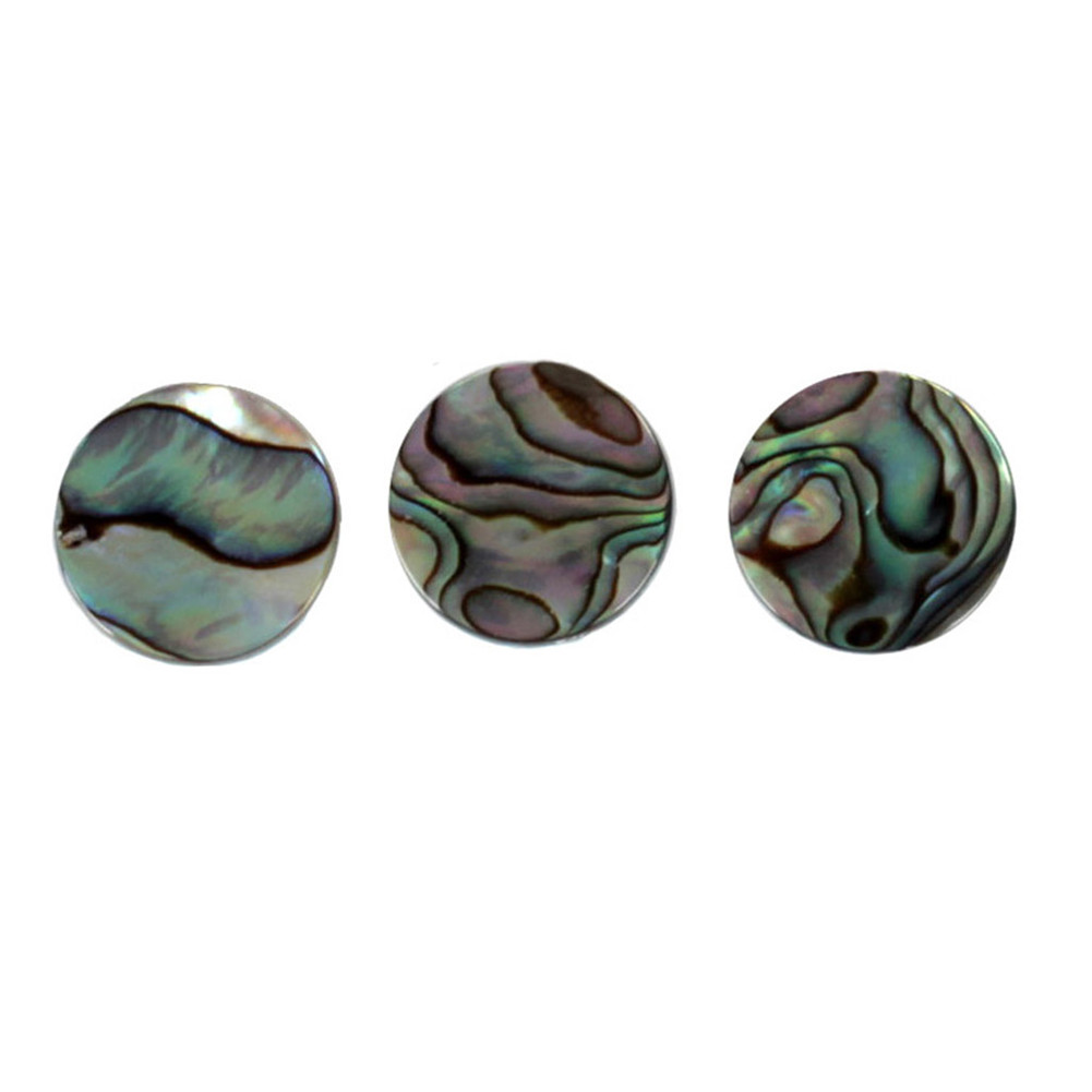 3pcs/set Finger Buttons Trumpet Valve Cap Musical Instruments Abalone Shell For Trumpet Repairing Instruments Parts Accessories Colored seashell