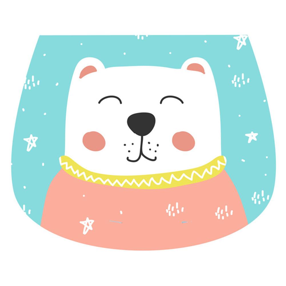 26*19cm Baby Sweat Towel Cotton Pad  6-layers Sweat Towel B