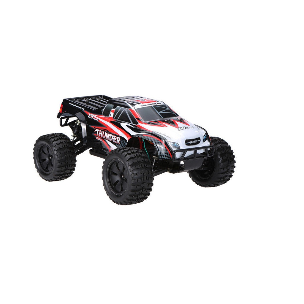 ZD Racing 10427 - S 1/10 Children Toy Car Remote Control Car Brush-less Truck(9106) black