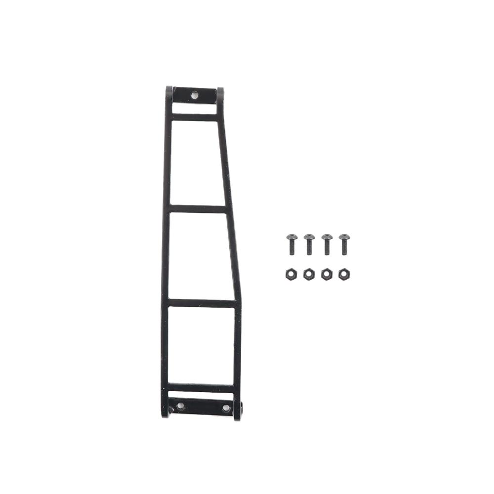 RC Crawler Metal Climbing Rear Ladder Stairs for 1/10 Traxxas TRX4 G500 RC Car Accessories black
