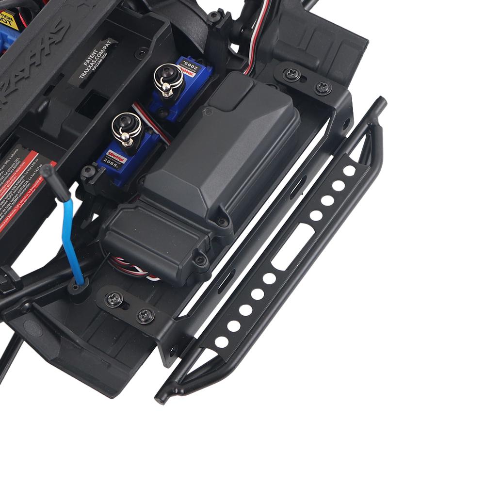 1 Pair Metal Side Pedal For 1 / 10 RC Crawler Car Traxxas TRX4 Defender Bronco  For RC Car Accessories Supplies black