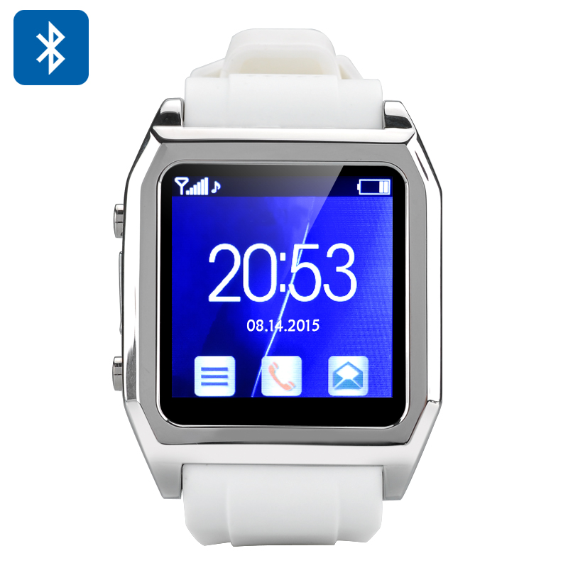 TopwatchTW530D  Bluetooth Smartwatch (White)