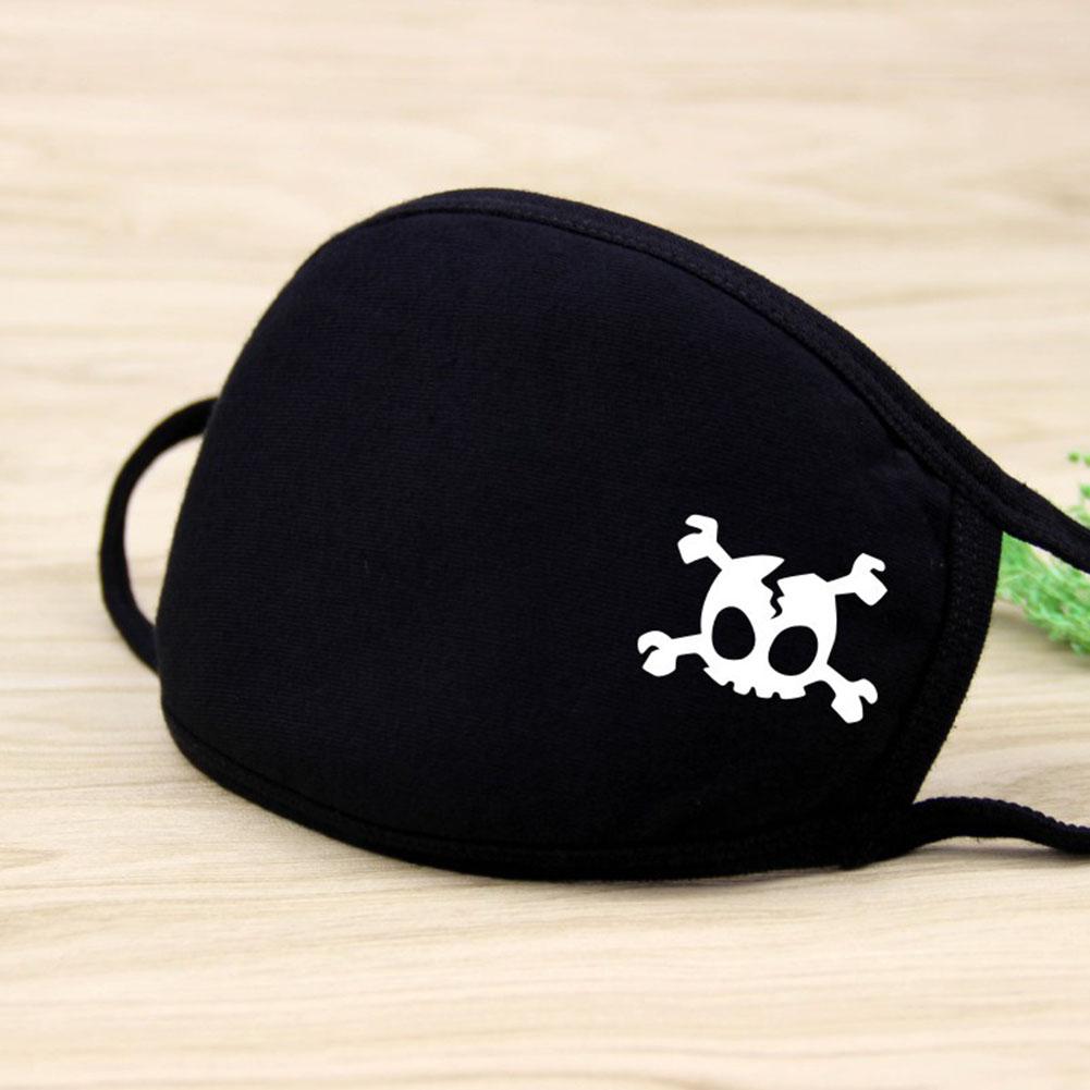 Riding Cotton Mask Dust-proof Facial Mouth Protection Fashion Men Women Black Mask KZ-2014
