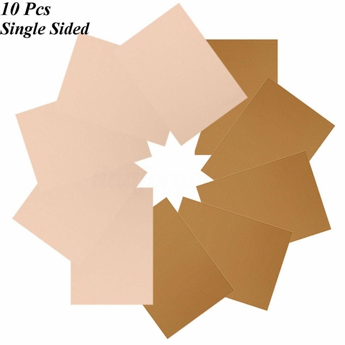 10 Pcs 1.5mm FR4 Copper Clad Plate Laminate PCB Printed Circuit Board 100x150mm 10PCS 10*15 single-sided fiberglass board