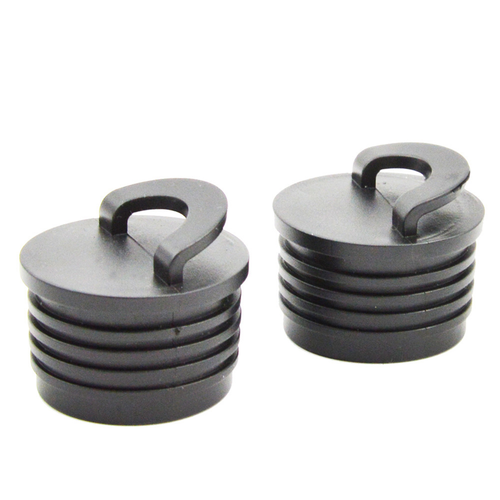 2pcs/set Outdoor Canoe Waterproof Plug Easy Install Portable Boating Kayak Accessories Rubber Professional Drain Stopper 2 sticks