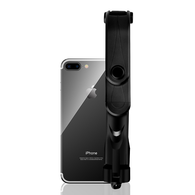 4 in 1 Wireless Bluetooth Selfie Stick Universal for IOS & Android black