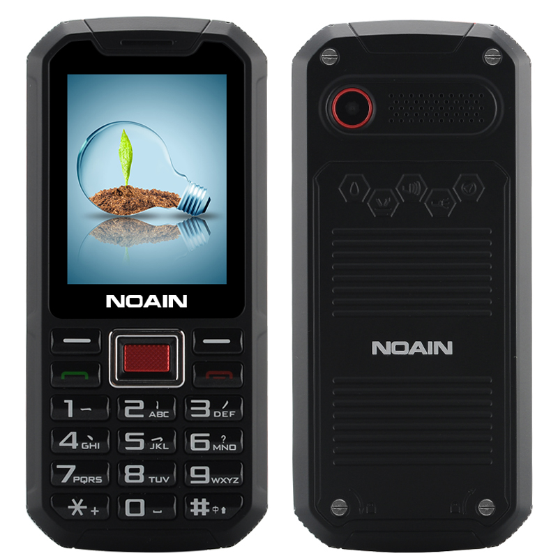 NOAIN 007 Rugged IP67 Phone (Red)