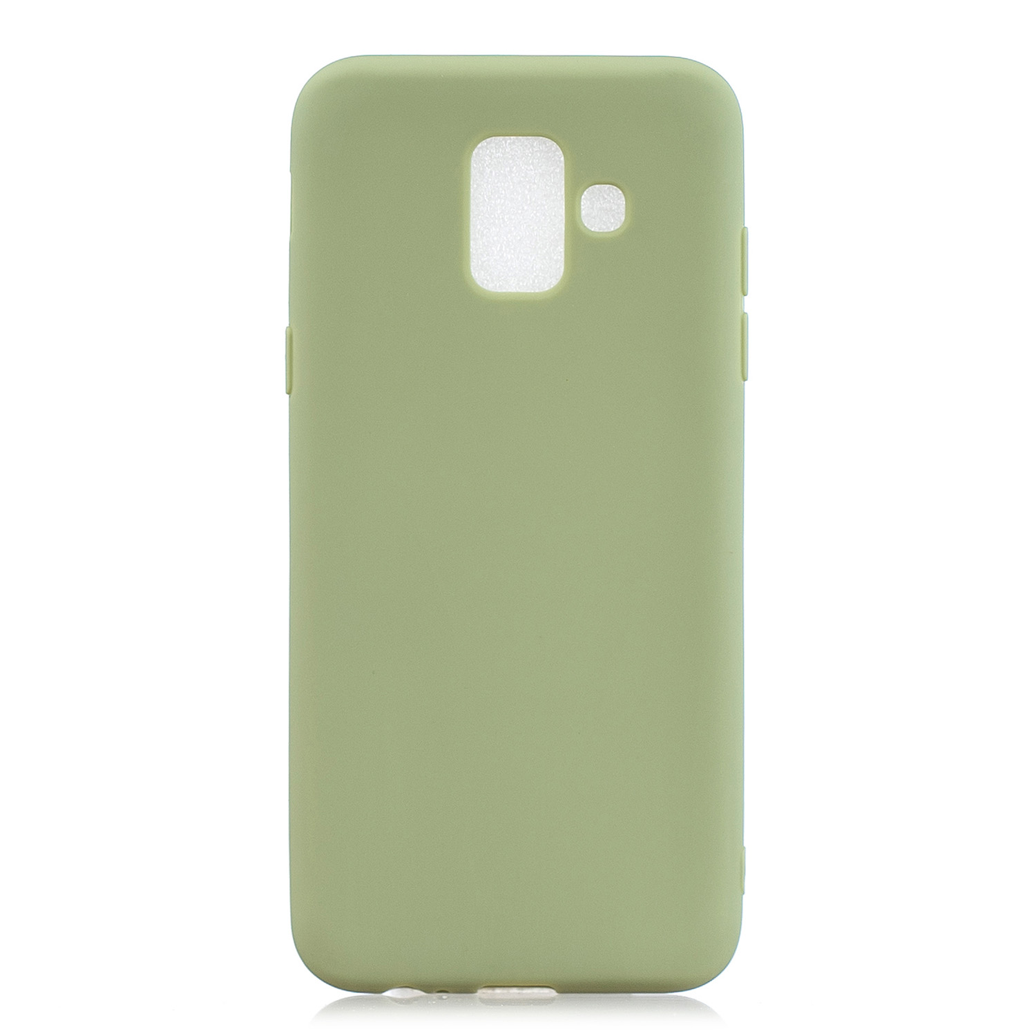 For Samsung A6 2018 Lovely Candy Color Matte TPU Anti-scratch Non-slip Protective Cover Back Case 10