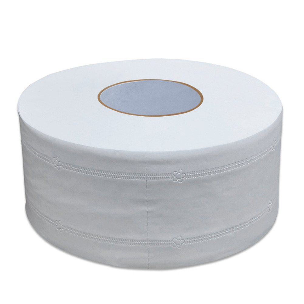 Roll Toilet Paper Pulp Home Rolling Tissue Strong Water Absorption for Home Hotel 1 roll