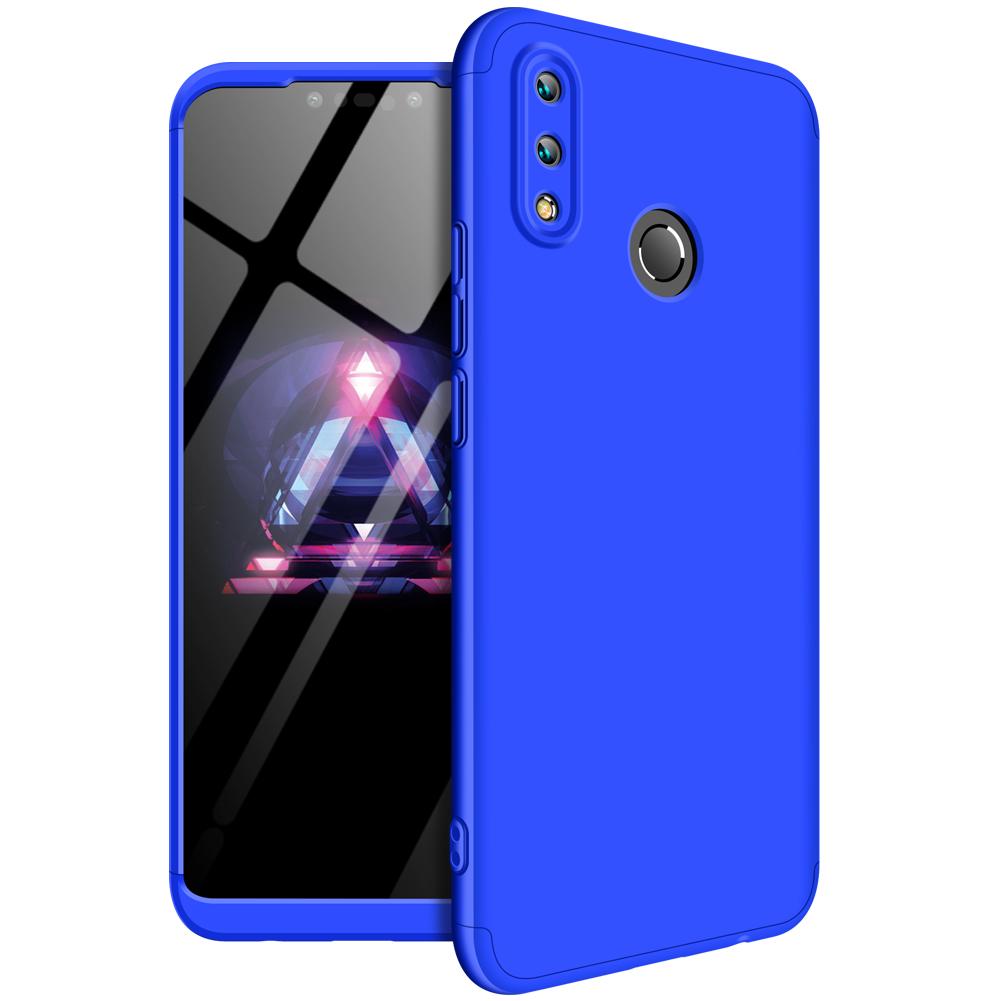 For HUAWEI NOVA 3I/P smart Plus 3 in 1 360 Degree Non-slip Shockproof Full Protective Case blue