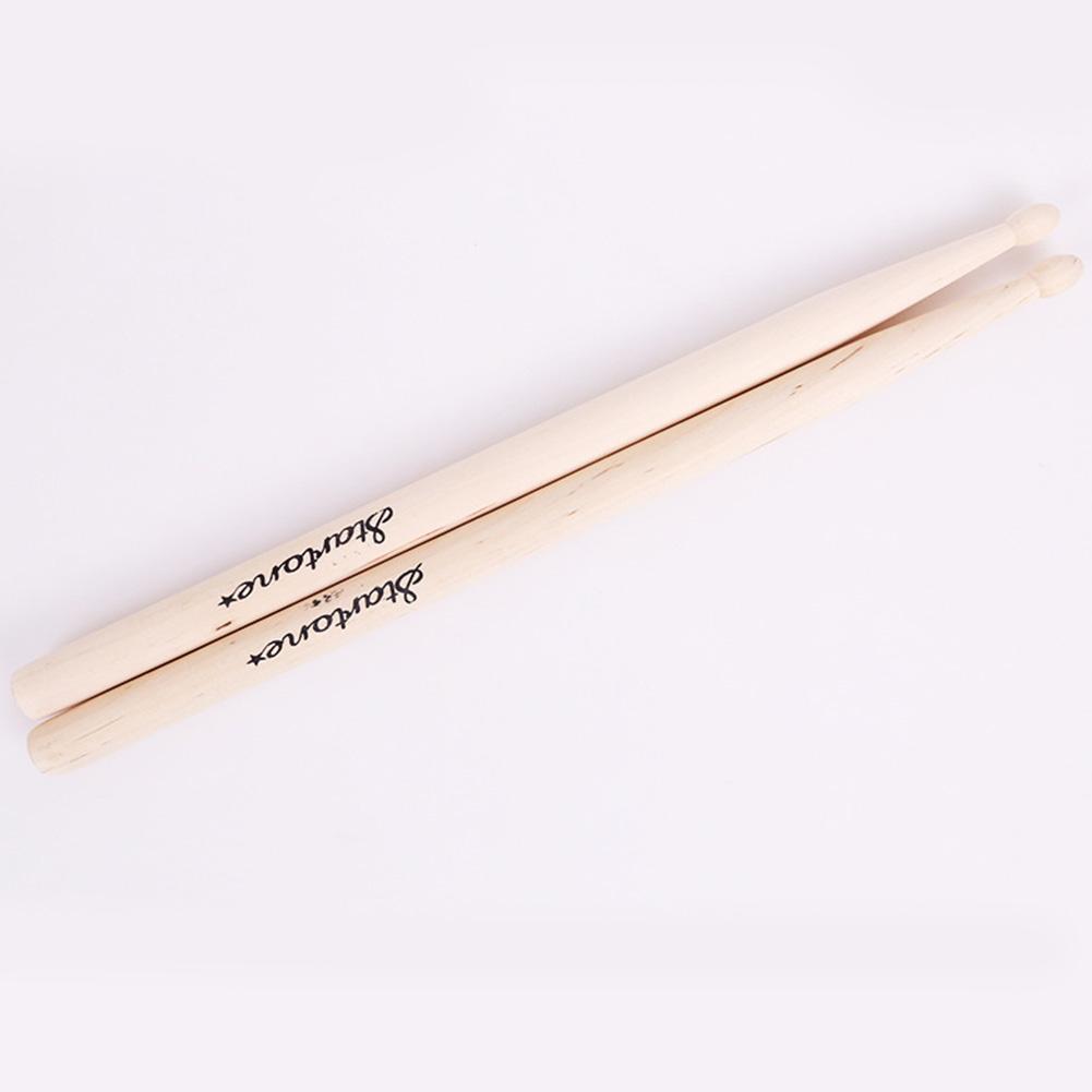 Maple Wood Children's Drum Sticks Anti-slip Drumsticks Music Toy for Jazz 5A Electronic Drum